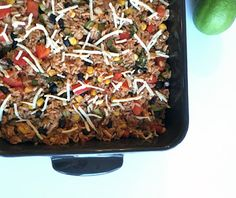 Mexican Rice Fiesta #MeatlessMonday @pickydiet