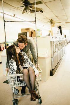 love in a laundromat on Pinterest