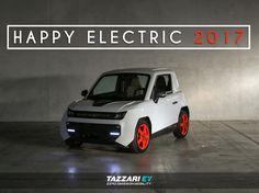 Tazzari EV wishes you an electrifying 2017!