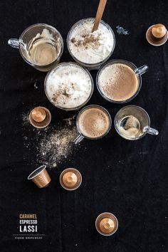 Caramel Coffee Lassi - Cook Republic