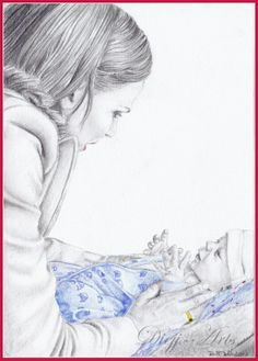 Once Upon a Time: Regina and Baby Henry