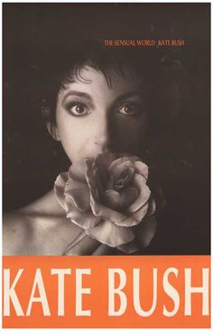 Kate Bush The Sensual World Album Cover Music Poster 12x18