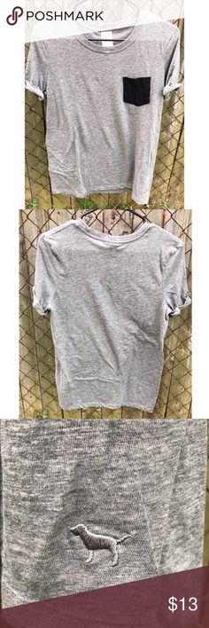 Victoria's Secret Pink pocket tee Worn a few times, no holes or stains. (Please comment if u need measurements) Great condition! PINK Victoria's Secret Tops Tees - Short Sleeve