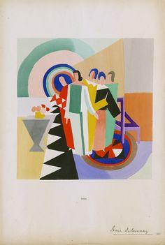 Art Pages - Соня Делоне: Жизнь, полная цвета