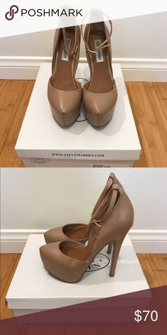 Steve Madden Deeny (Blush) Barely worn! Great condition. Includes original box. No trades please. Shoes Heels