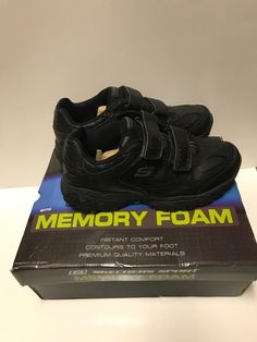d019c796d896 Skechers Sport Men s Afterburn Strike Memory Foam Velcro Sneaker