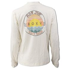 Rip Curl Surf Co Short Sleeve T-Shirt in Sea Salt