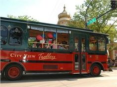 Ride the City View Trolley to many of Rapid City's attractions, including The Journey Museum, Storybook Island and #downtownrapidcity. #visitrapidcity