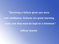 """""""Surviving a #failure gives you more self #confidence. Failures are great learning tools..."""" #Quote #Motivation www.maverickinvestorgroup.com"""