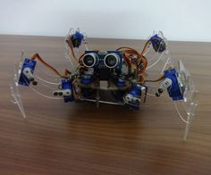 "Hi guys! Here's a spider robot that we had made for the 2016 science fair which was held at our school. Well, you can't technically call it a ""spider robot"" as spiders have 8 legs, but we atleast tried to make it look like a spider (or maybe spider like) . Our robot has four legs, so the correct term would be a quadruped. Well guys say hello to ""Quattro"", a non lethal, arduino quadruped!Here is an instructable on how we made her, taking you through ..."