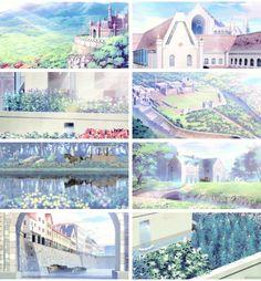 Akagami no Shirayukihime/ Snow White with the red hair anime and manga || beautiful sceneries