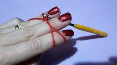 A varázskör (magic ring) - Kreatív+Hobby Alkotóműhely Magic Ring, Fruit, Crochet, Rings, Red, Amigurumi, Ring, Ganchillo, Jewelry Rings