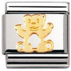 Nomination: Composable Classic TIERE - LAND Edelstahl und 18K-Gold (Bär). Create Name, Super Deal, Chat App, Birthday List, Amazon Kindle, Famous Brands, Aurora Sleeping Beauty, Cool Stuff, Disney Princess