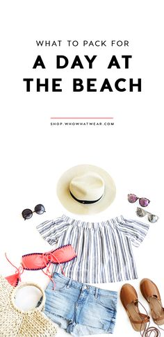 Summer is in full swing, and a seaside getaway is calling your name! All you need now is to pack these stylish beach essentials for your perfect day of fun in the sun.