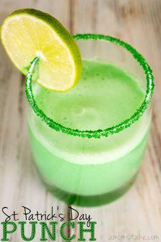 Green Punch Recipe | Saint Patrick's Day Recipe