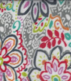 Anti-Pill Fleece Fabric- Spirited Rio