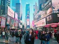 Time square❤️ #nyc #여행병 #뉴욕 #뉴욕타임스퀘어