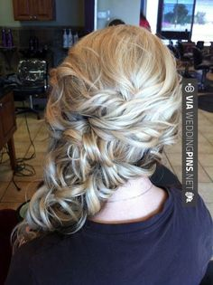 Fantastic! - Side Swept Wedding Hair blonde side swept wedding hair by keelyhope | CHECK OUT MORE SWEET TEMPLATES FOR GREAT Side Swept Wedding Hair HERE AT WEDDINGPINS.NET | #sidesweptweddinghair #s