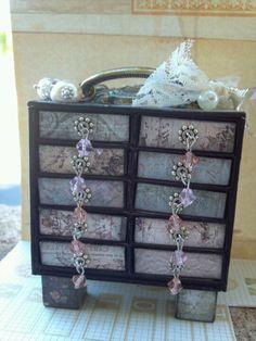 Matchbox dresser - Love the drawer pulls