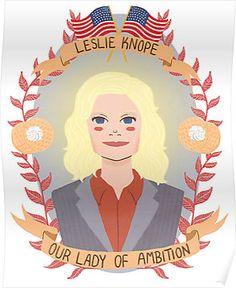 Leslie Knope by Spencer Salberg