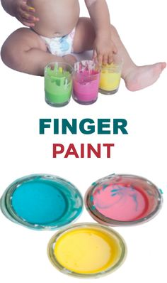 Make paint that is taste-safe with this easy recipe! #babypaintingideas #babypaintrecipe #tastesafepaint #fingerpaintingideasforkids #growingajeweledrose Finger Painting For Kids, Baby Painting, Home Made Paint For Kids, Baby Art Activities, Projects For Kids, Crafts For Kids, Edible Finger Paints, Creative Arts And Crafts, How To Make Paint
