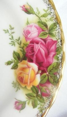 "Royal Albert ""Old Country Roses""…my china"