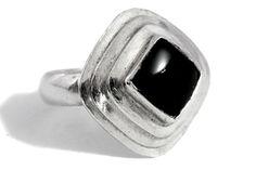 Onyx Silver Ring by Tezsahcom https://www.etsy.com/listing/479699861/onyx-silver-ring?ref=rss