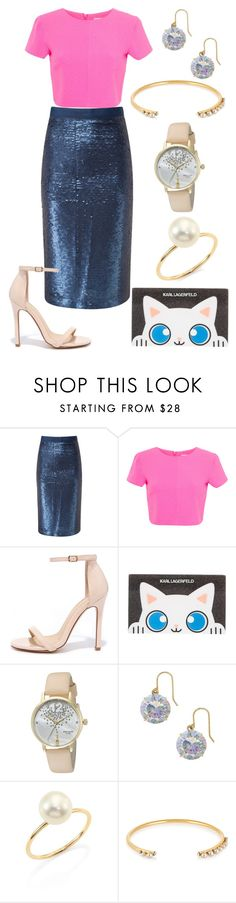 """""""Sans titre #4769"""" by kina-ashley ❤ liked on Polyvore featuring Pure Collection, Miss Selfridge, Liliana, Karl Lagerfeld, Kate Spade, mizuki and Elizabeth Cole"""