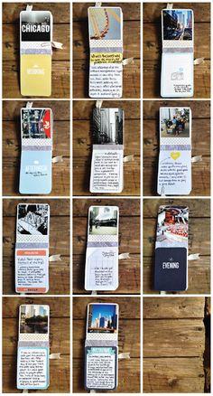 Mini carnet de voyage / souvenirs