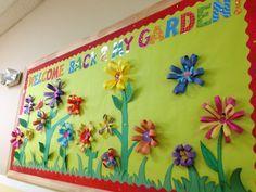 Kindergarten bulletin ideas on Pinterest | Garden Bulletin Boards ...