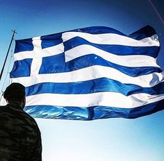 """ΖΗΤΩ ΕΛΛΑΣ GreekGateway.com ® (@greekgateway) on Instagram: """"Happy Greek Independence Day! Ζήτω η Ελλάδα! #greece #hellas #greek #greeks #greekflag…"""" Greek Independence, Corinth Canal, Greek Flag, Aesthetic Photo, Blue Aesthetic, Greek Warrior, Greek History, Greek Culture, Italy Travel"""