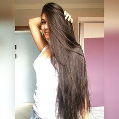 """902 Likes, 7 Comments - Long hair saga (@longhairsaga) on Instagram: """"Menina bonita com cabelos longos e saudáveis ❤️ Muito obrigado por compartilhar esta linda foto…"""""""