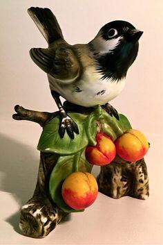 Sweet porcelain chickadee
