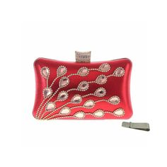 "Taidaf Women Luxury Rhinestone Evening Bag Peacock Purse Prom Wedding Clutch Handbags+Money Clip(Red). FASHION & LUXURIOUS RHINESTONE EVENING BAG--Crystal peacock feather pattern with rhinestine clasp closure and high quality fabric interior with 3 zipper pockets. APPLY FOR MANY OCCASIONS--3 in 1 bag(handbag,and cross-body bag) SUIT FOR parties,prom,night out,shopping,dinner,PERFECTLY FOR EVENING DRESS. LARGE SIZE--Bag size:20 X 12 X 6 cm/7.9''*4.7''*2.4'',chains length:21"" and 7"",suit for…"