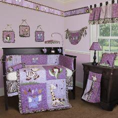 Perfectly Purple Baby Girl Nursery