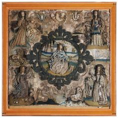 A rare stumpwork and needlework picture English, 17th century,… English stumpwork - Bing Images