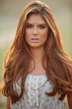 I really want to take the plunge and get a light-medium auburn coloured hair!