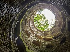 Sintra's Quinta da Regaleira estate has a lot to offer tourists, like ornate gardens and palaces, as well as deep wells with spiral staircases lining the walls.