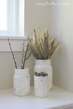 chalk-painted-mason-jars-making-it-in-the-mountains