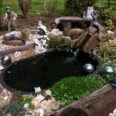 1000 images about fish ponds on pinterest fish ponds for Garden pond without fish