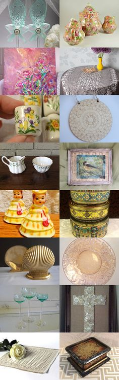 Beautiful Home Decor from Etsy Handmade and Vintage Shops! by Rebecca B on Etsy--Pinned+with+TreasuryPin.com