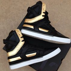 Supra SKYTOP II Black & Gold