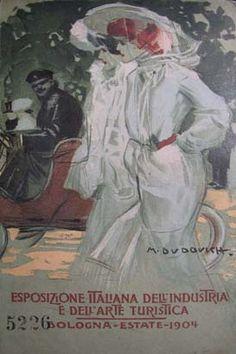 Bologna Esposizione Italiana Industria  e Arte  1904 - cartolina