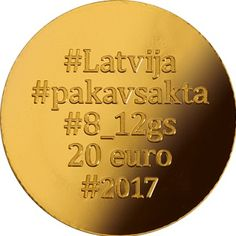 """On 31 August 2017 Latvijas Banka was issue a new 20 euro gold collector coin """"Gold Brooches. The Horseshoe Fibula"""". The coin replicating a horseshoe fibula continues the series of euro gold collector coins dedicated to Latvia's centenary.   Face value: 20 euro Weight: 6.00 g  Diameter: 21.00 mm Metal: 999.9° gold Quality: proof  Maximum mintage: 4 000 Struck in 2017 by Münze Österreich Aktiengesellschaft (Austria)"""