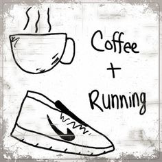 Coffee and running....me! Black coffee actually raises blood pressure. if you suffer from LOW BP like i do .. then drink half cup of Black Coffee and glass of water b4 a Run ..will help you stride better