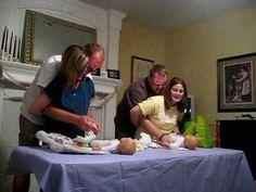Carolina's Baby Shower (Juegos) Parte 1 - YouTube