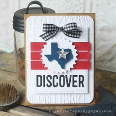 Sizzix Inspiration | Discover Card by Hilary Kanwischer