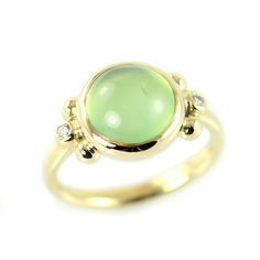 Gold ring with a green serpentine and small diamonds! Gold Rings, Gemstone Rings, Copenhagen Denmark, Fairy Dust, Antique Jewellery, Green Stone, Hippy, Fairytale, Bespoke