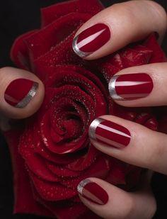 Decoración de uñas sencillas y fáciles, 50 modelos bonitos y elegantes (40)