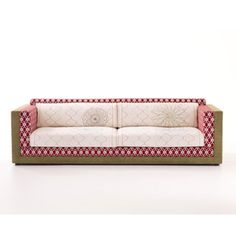 cupcake lounge: beige leather corpus, mohair oversized cushions, Mobel ideea